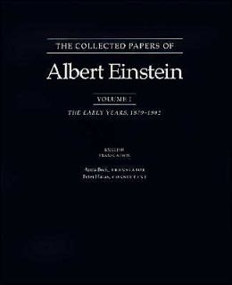 The Collected Papers of Albert Einstein, Volume 1: The Early Years, 1879-1902. (English translation supplement)