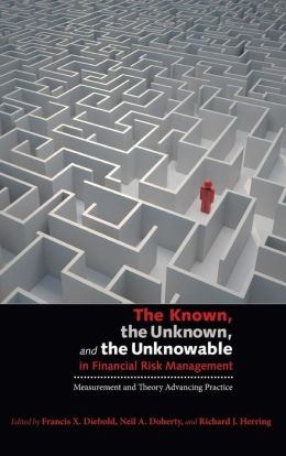 The Known, the Unknown, and the Unknowable in Financial Risk Management: Measurement and Theory Advancing Practice