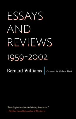 Essays and Reviews: 1959-2002