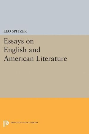 Essays on English and American Literature