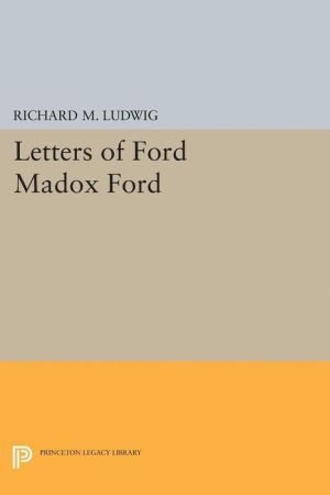 Letters of Ford Madox Ford