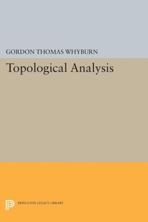 Topological Analysis