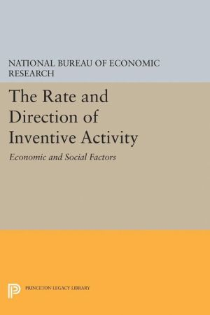 The Rate and Direction of Inventive Activity: Economic and Social Factors