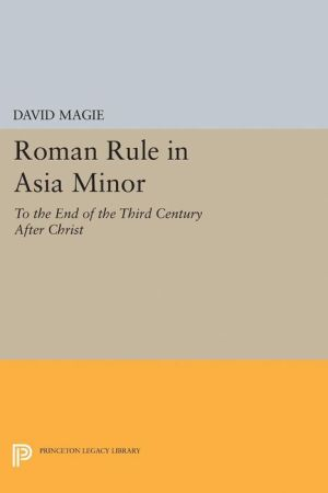 Roman Rule in Asia Minor