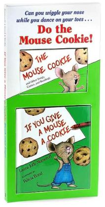 If You Give a Mouse a Cookie/Mini Book and Tape Package