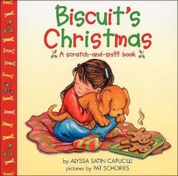 Biscuit's Christmas: A Scratch-and-Sniff Book (Biscuit Series)