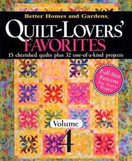 Quilt-Lovers' Favorites: From American Patchwork & Quilting, Volume 4