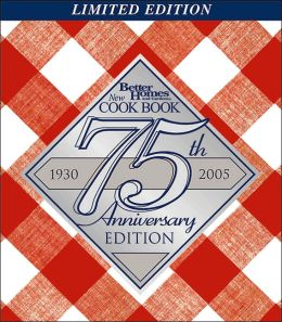 New Cook Book 75th Anniversary Limited Edition