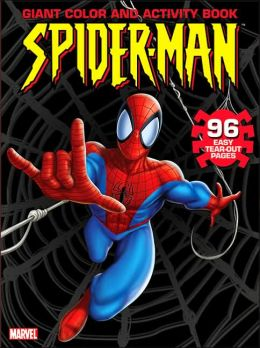 Spider-Man Giant Color and Activity Book