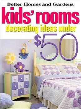 Kids' Rooms Decorating Ideas under $50