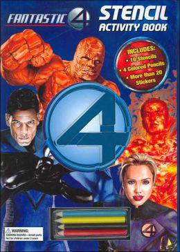 Fantastic Four: Stencil Activity Book