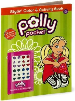 Polly Pocket Color & Activity with Press-On Earrings