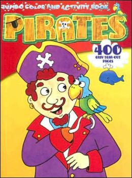 Pirates Jumbo Color & Activity-