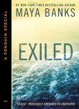 Book Cover Image. Title: Exiled (Novella), Author: Maya Banks