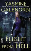 Book Cover Image. Title: Flight from Hell (Novella), Author: Yasmine Galenorn
