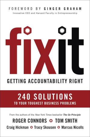 Fix It: 16 Traits That Empower You, Your Team, and Your Organization to Achieve Results