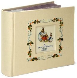 Beatrix Potter A Tale of Baby's Days Photo Album 9x9