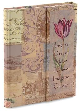 Inspire Dream Pink Magnetic Lined Journal 9x7