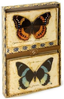 Natural Wonders Butterfly Duet Boxed Cards Set of 10
