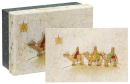 Three Kings Tip On Christmas Boxed Card