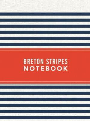 Breton Stripes Notebook - Navy Blue