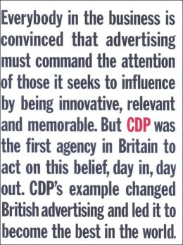 CDP - the Home of British Advertising