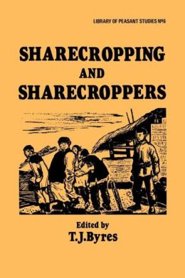 Sharecropping and Sharecroppers