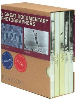 Five Great Documentary Photographers - Box Set of 5