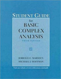 Basic Complex Analysis (study guide)