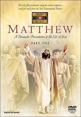 The Visual Bible Book Of Matthew On Dvd