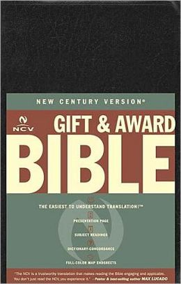 NCV Gift and Award Bible