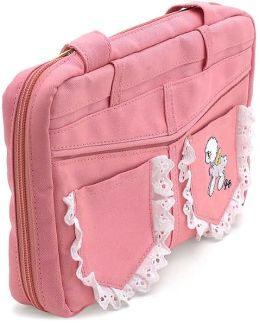 Precious Moments Pink Bible Cover