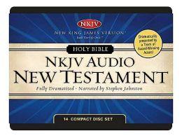 NKJV Audio New Testament: 14 CD set