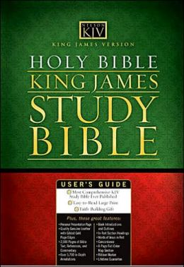 Holy Bible King James Study Bible - Personal Size (KJV)