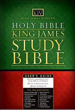 Holy Bible King James Study Bible: Personal Size, King James Version