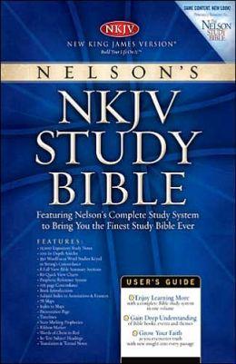 Study Bible-NKJV-Personal Size