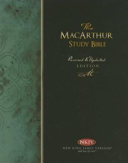 The MacArthur Study Bible: New King James Version (NKJV), Burgundy Bonded Leather, Thumb-Indexed