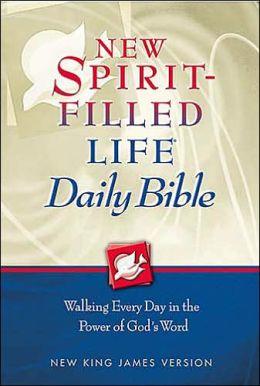 Spirit Filled Life Daily Bible-NKJV
