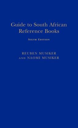 Guide to South African Reference Books