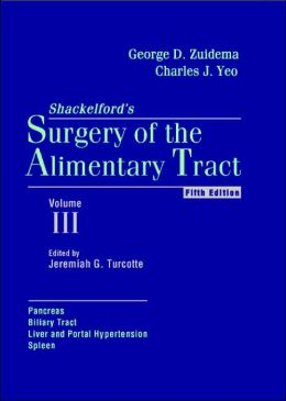 Surgery of The Alimentary Tract: Pancreas, Biliary Tract, Liver & Portal Hyperten,SpleenVol 3