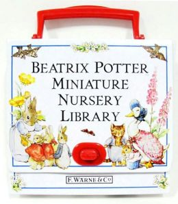 Beatrix Potter Miniature Nursery Library