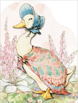 Jemima Puddle-duck (Large Shaped Board Book)