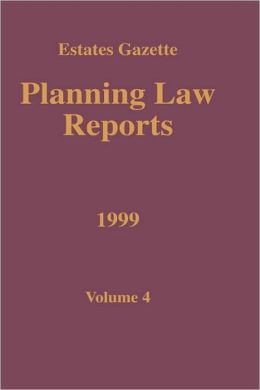 Planning Law Reports 1999 V4