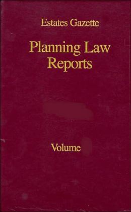 Planning Law Reports 2001