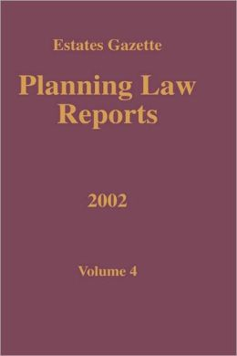 Planning Law Reports 2002 V4