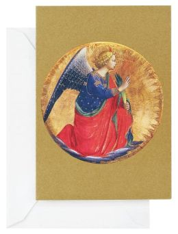 Golden Angel Christmas Boxed Card
