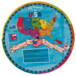 All Around the USA Learning Wheel