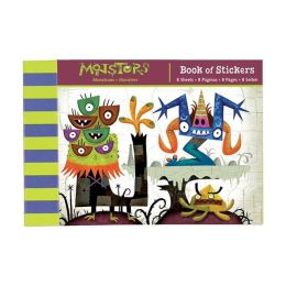 Monsters Book of Stickers