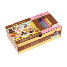 Sweet Treats Color Me Puzzle
