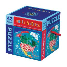 North America 42 Piece Puzzle